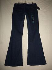 ROCK 47 Wrangler 31 NWT Dark Denim Western Stretch Flare Jeans 31X30 WFX20HV