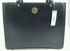 $295  Black Beekman - French Grain Leather  DKNY HANDBAG