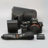Sony Alpha a7R 36.4MP DSLR Camera - Black (Body Only) - 21K Clicks