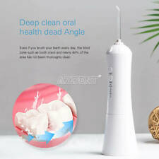 Dental Portable Electric Flosser Irrigator 230ML USB charging White