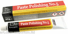 Hard Plastic and Vintage Bakelite Renovation Polishing Paste (1 tube of 60g)