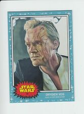 PRINTING DOT 2020 Topps Star Wars Living Set #87 Dryden Vos Solo Movie