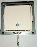 KOPP Zugschalter RIVO Creme-weiss Zug-Wechsel-Schalter Cremeweiss Aus-Schalter