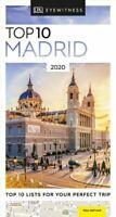 DK Eyewitness Top 10 Madrid 2020 by DK Eyewitness 9780241364888   Brand New