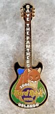 HARD ROCK HOTEL ORLANDO SAVE THE PANTHERS GUITAR PIN # 34765