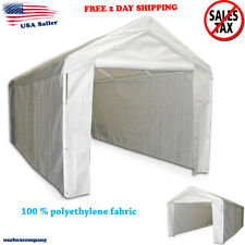 Canopy Garage Side Wall Kit 10 x 20 Big Tent Portable Parking Carport Car Shelte
