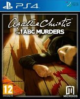 Agatha Christie The ABC Murders PS4 * NEW SEALED PAL *