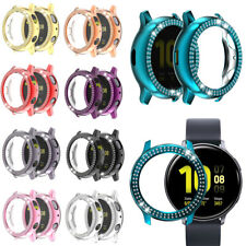 2PCS Bling Screen Protector Case Cover For Samsung Galaxy Watch Active 2 40/44mm