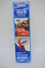 Braun Oral-B 91000871 Disney Cars Kids Extra Soft Replacement Toothbrush Heads