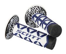 Scott Diamond MX Offroad Grips Blue/White