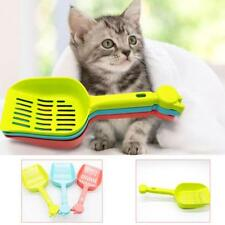 Colorful Cat Litter Scoop Plastic Kitty Dog Tray Poop Sieve Pets Cleaning_Shovel