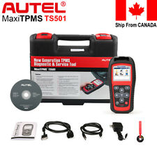 Autel TS501 TPMS OBD2 Code Reader Scanner Auto Scan Tool Program ECU Key FOB