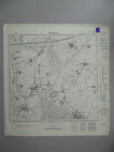 Rodenberg Nenndorf Landringhausen - Niedersachsen - Topographische Karte - 1939
