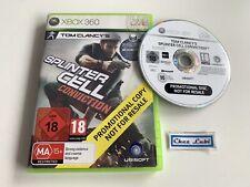 Splinter Cell Conviction - Promo - Microsoft Xbox 360 - PAL EUR