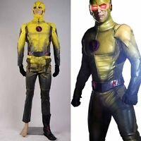 The Reverse-Flash Professor Zoom Eobard Thawne Cosplay Costume Uniform Outfit