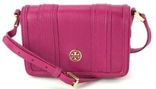 Tory Burch Shoulder Cross Body Bag Landon Small Wildflower Pink Leather Handbag