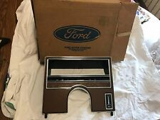 NOS 1977 FORD MERCURY FULL SIZE CAR D7MY-71044D70-A GAUGE CLUSTER BEZEL ( NICE )