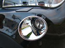 CACHES CHROME CONTOURS COUVRES ENTOURAGE ANTIBROUILLARDS pour BMW E84 X1 09-2013