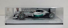 MINICHAMPS LEWIS HAMILTON 1/43 MERCEDES W05 N.44 WINNER CHINOIS GP 2014 L.680