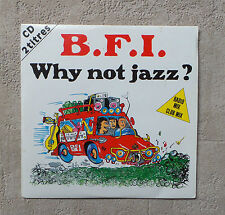 """CD AUDIO INT / B.F.I. """"WHY NOT JAZZ?"""" CD SINGLE 1992 AIRPLAY RECORDS CARD SLEEVE"""