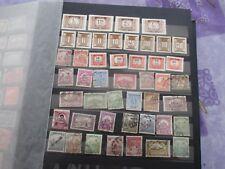 Hongrie lot de 45 timbres oblitérés tous états voir photos REFa5
