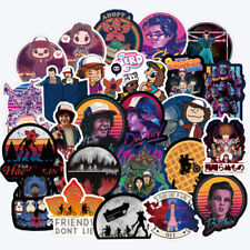 50Pcs/lot Stranger Things Stickers Pack Anime Sticker Cartoon Laptop Skateboard