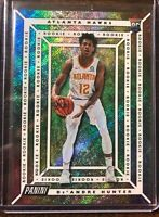 2019-20 Panini Player Of The Day De'Andre Hunter Holo Refractor Rookie Card #/99