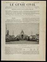 1909, Ausstellung Internationale De Nancy: Sicht der Palast der Festliche