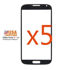 USA 5x Black Outer Glass screen Lens for Samsung Galaxy S4 i9500 i337 M919 i545