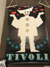 Tivoli Rare Vintage Original Dutch Festival Poster Kruckow Copenhagen