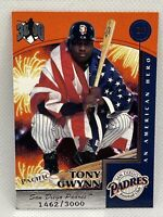 1999 Pacific Hit Machine 3000 #8 Tony Gwynn HOF San Diego Padres /3000 SP