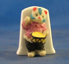 Birchcroft Thimble -- Model  -- Drummer Cat