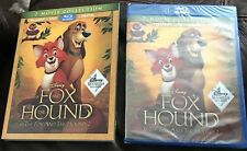 THE FOX AND THE HOUND 1 AND 2 BLU-RAY+DVD+DIGITAL DISNEY EXCLUSIVE *NEW*