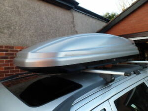 THULE ATLANTIS 200 ROOFBOX FOR HIRE ONLY LESS THAN £6 PER DAY