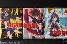 JAPAN Ryo Akizuki manga: Kill la Kill 1~3 Complete Set
