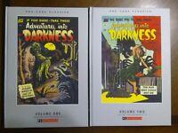 Adventures into Darkness Vol 1 & 2 Pre-code Classics New HC PS Artbooks