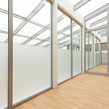Privacy White Frosted Window Film Frost Etched Glass Vinyl