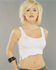ELISHA CUTHBERT 8X10 PHOTO PICTURE PIC HOT SEXY BOOBS TINY TOP CLOSE UP 65