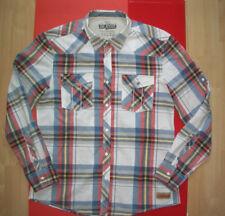 Kariert Karo EDC by Esprit Hemd shirt  Größe XL