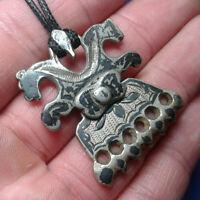 Ancient Silver Amulet Pendant