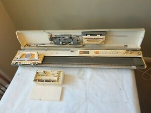Brother KH710 Knitting Machine working/complete great cond with accessories