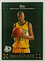2007-08 Topps Kevin Durant RC #112 Seattle Supersonics