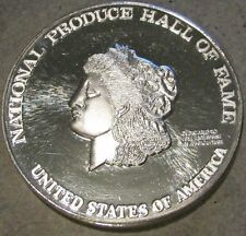National Produce Hall of Fame 3.63 Troy Oz. .999 Silver Round - Nevada City Mint