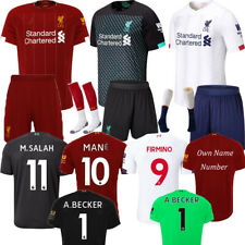 19/20 Football Jersey Soccer Kits Adults Or Kids Training Outfits Short Sleeve