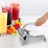 Portable Manual Fruit Juicer Lemon Orange Squeezer Extractor Squeezing Tool