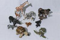 Safari ToyMajor Animals and Young Tortoise Elephant Rhino Tiger Bear lot 13
