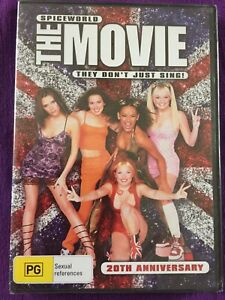 SPICEWORLD - THE MOVIE 20th Anniversary - THEY DON'T JUST SING - *FREE STD POST*