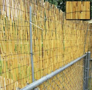 Natural Reed Fence Screening Roll Garden Fence Bamboo Fence 1 X4M For Privacy