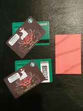 100's of GIFT CARDS: 2021 Year of the Ox Starbucks card set bar/mag/sleeve - USA