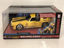 Transformers Bumblebee 1977 Chevrolet Camaro Rusty 1:24 Scale Jada 99383